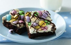 Spring Celebration Brownie Recipe | Betty Crocker | Brownie Toppings