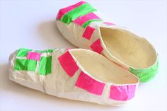 How to Make Duct Tape Slippers   101 Duct Tape Crafts Please follow us @ http://www.pinterest.com/ducktapesale/