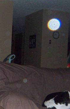my daughters house, started seeing orbs in pictures after she became pregnant