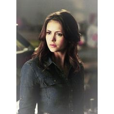 Elena Gilbert Doppelgängsta ❤ liked on Polyvore featuring hair, nina dobrev and the vampire diaries