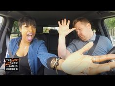 What a hoot - Jennifer Hudson singing a drive through order with Host James Corden. Can't believe that James did so well. .