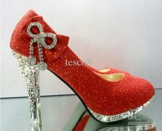 RED WEDDING SHOES... YESSSSS