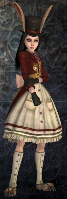 Alice madness returns - Late but lucky outfit
