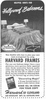 Harvard Frames 1950 Ad Picture