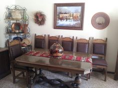 Southwest decor at another friends house in KS.