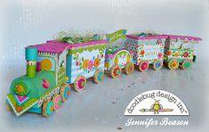 Bunnyville Collection: Easter Treat Train by Jennifer Beason | Doodlebug Design Inc Blog | Bloglovin'
