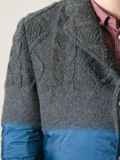 Moncler Gamme Bleu Padded Jacket.