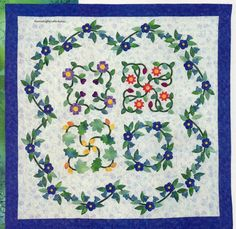 Summer In Baltimore Quilt Pattern Pieced/Paper Pieced/Applique BM
