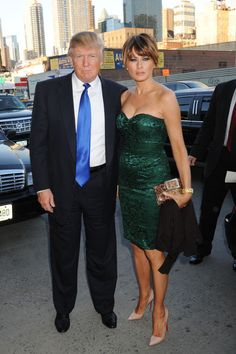 Melania Trump Strapless Dress - Melania Trump Looks - StyleBistro                                                                                                                                                                                 More