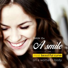 Smile today for you are beautiful, skinlover!