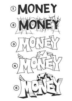 Money Piece Progression - Free Drawing Lesson