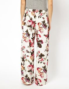 Joules | Joules Fleur Print Pyjama Bottoms at ASOS