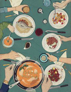 Fricote artful inspiration in 2019 acuarela, inspirar Art And Illustration, Illustrations And Posters, Food Graphic Design, Art Design, Buch Design, Freelance Illustrator, Art Sketchbook, Aesthetic Art, Food Art