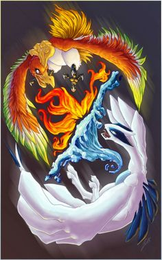 Pokémon Soul & Hearth art work. (: http://75popularpinterests.blogspot.be/
