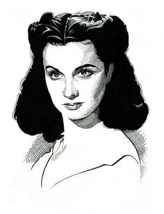 The Very Graceful Vivien Leigh In Character As The Spoilt