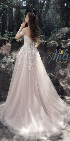 Milva Bridal Wedding Dresses 2017 Tamira / http://www.deerpearlflowers.com/milva-wedding-dresses/2/