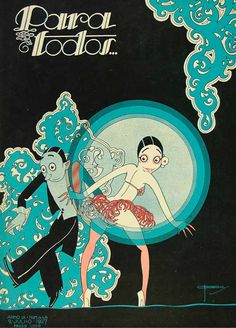 Illustration cover by José Carlos (1884-1950), July 2, 1927, Para Todos…, # 446, Brazil.