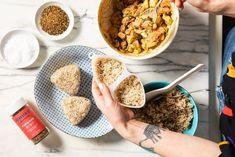 Japanese Rice, Japanese Snacks, Japanese Dishes, Home Recipes, Snack Recipes, Cooking Recipes, Avocado Uses, Tuna Mayo, Raw Tuna