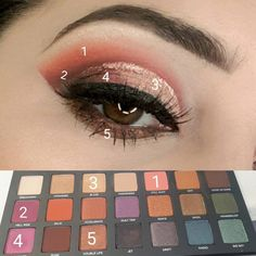 How to Apply Eyeliner to Accentuate Your Eyes Blending Eyeshadow, Eyeshadow Looks, Eyeshadow Makeup, Glitter Eyeshadow, Smokey Eyeshadow, Eyeshadows, Lip Makeup, Lip Gloss Colors, Lip Colors