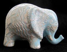 Ceramic Elephant 10/7 Montes awesome
