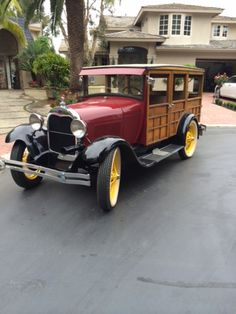 1929 Ford Model A Station Wagon ... =====>Information=====> https://www.pinterest.com/Katieboots29/motorcars/