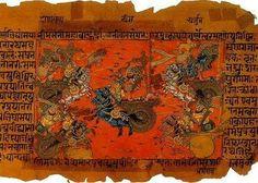 """La colonización de la Tierra por los agresores espaciales (un fragmento del """"Mahabharata"""") - Tierra antes del diluvio: Continentes Desaparecidos y Civilizaciones"""