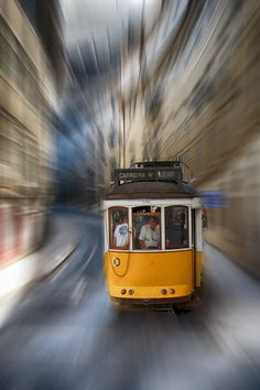 Lisbon Tram by johnmcarter