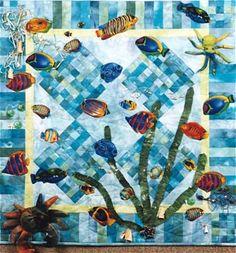 seascape quilts | Quilting Lecture and Workshop Descriptions for Quilt Artist Paula Reid