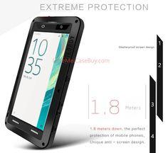 Love Mei Powerful Sony Xperia XA Protective Case