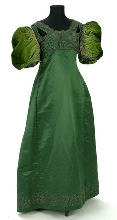 Dress  1890s  IMATEX