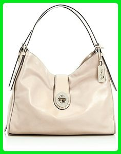 a50f05252b49 COACH 32221 Madison Carlyle Leather Shoulder Bag in Milk White Gold - Hobo  bags (