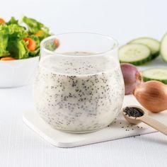 Salade de couscous perlé au saumon fumé, roquette et fromage de chèvre - Les recettes de Caty