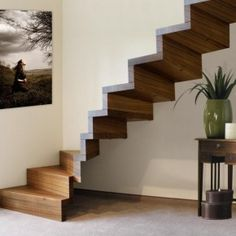 Unusual Unique Hanging Staircase Designs for Small Spaces with Banisteless