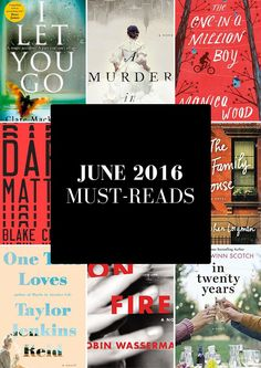 June 2016 Must-Reads from MomAdvice.com. 8 books to check out this month from the library!