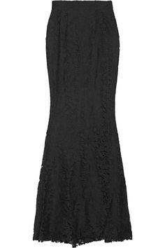 Dolce & Gabbana | Lace fishtail maxi skirt | NET-A-PORTER.COM
