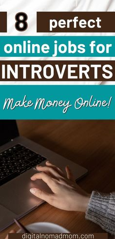 If you are an introvert, this list of well paying online jobs for introverts is a great way to find your perfect place in the workplace. The ability to stay connected in the workforce, while being able to control social interactions is of key importance when you are an introvert - these jobs will help you be able to do just that! Online Careers, Best Online Jobs, Introvert, Perfect Place, Making Ideas, Workplace, How To Make Money, Key, Unique Key