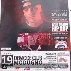 #bravoragazzotour #demode #bari #rap #Padgram