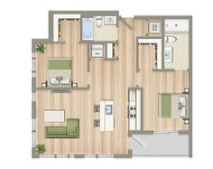 2 Bedroom Apartments For Rent In Dc Fair Floor Plans And Pricing  Bedroom Floor Plans Washington Dc And Design Ideas