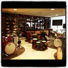 Drums & Percussion Paradise @bonstudio Athens, Greece