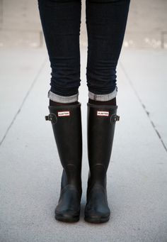 Hunter Galoshes -- Santa, I was a good girl this year. Well, I tried really hard to be.