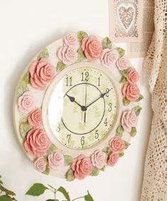 Rose clock-