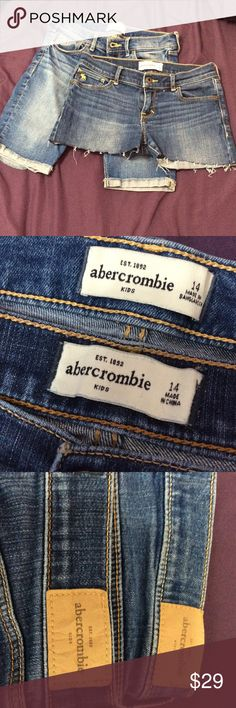 abercrombie kids shorts abercrombie kids shorts worn once or twice Abercombie Kids Bottoms Shorts