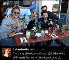 Sebastian Roche,  Matt Cohen,  Rob Benedict,  & Richard Speight Jr.