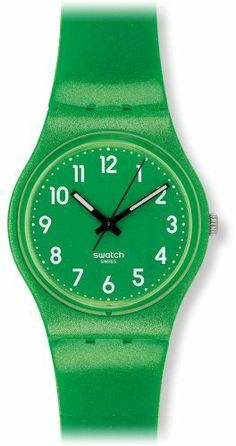 Swatch Flaky Green Ladies Watch GG212 Swatch. $49.00. Brand:SWATCH. Band color: green. Model: GG212. Condition:brand new with tags. Dial color: green
