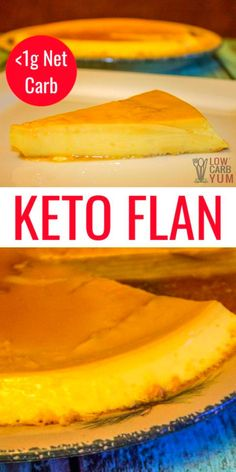A creamy keto flan low carb recipe. Enjoy this Spanish custard dessert on keto with less than 1g net carb per serving. #ketodesserts #lowcarbdesserts #lowcarbyum ...t or low carb fool you. It's always good to compare items and read the labels carefully. Make sure you know what you are buying. Simple substitutions...misu 1 cup part-skim ricotta cheese3/4 cup (6 oz.) 1/3-less-fat cream cheese1/2 cup sugar24 ladyfingers (two 3-oz. packages)1/2 cup Kahlua (coffee-fla #keenrecipes.com… Pudding Desserts, Custard Desserts, Dessert Recipes, Keto Friendly Desserts, Low Carb Desserts, Low Carb Recipes, Cooking Recipes, Low Carb Flan Recipe, Cuban Recipes
