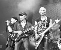 Scorpions~ Heavy Metal from Germany. One of the best guitarist...ever.!. Started in 1965 in Hanover~lead guitarist, Rudolf Schenker, remained constant throughout their reign...still rockin. One of the best, oh, did I say that already.?.