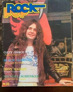 Ozzy Osbourne, Black Sabbath, Bands, Children, Cover, Clowns, Kids, Slipcovers, Band