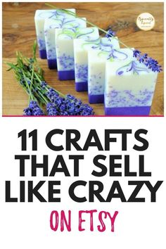 Diy Crafts To Sell On Etsy, Diy Projects To Sell, Crafts To Make And Sell, Sell Diy, Etsy Crafts, Easy Diy Crafts, How To Make Money, Handmade Crafts, Making Things To Sell