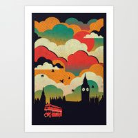 Art Prints featuring London by The Child
