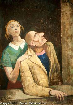 Karl Christian Ludwig Hofer aka Carl Hofer (German, 1878~1955)